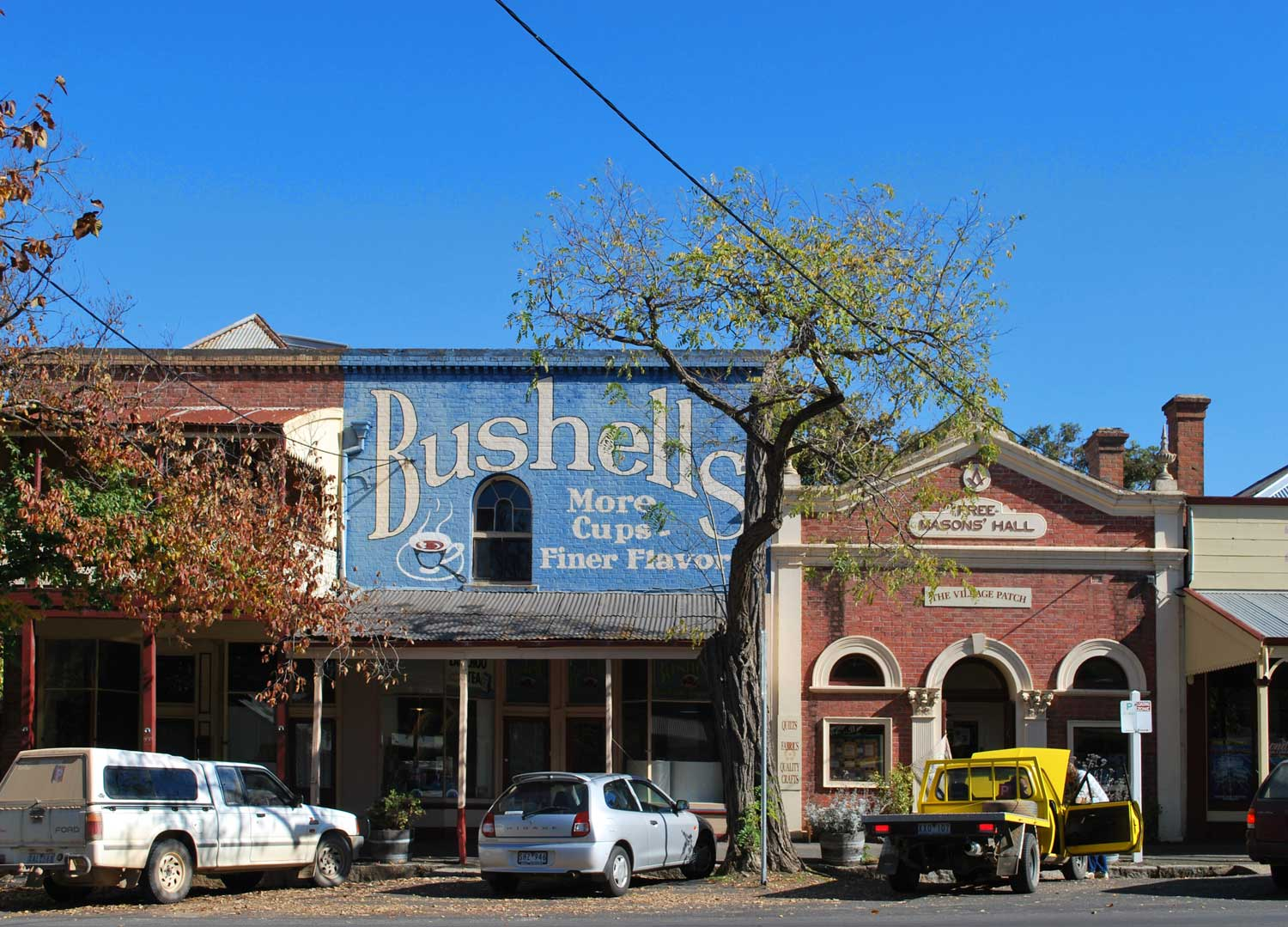 Bushells Tea Advertisement in Maldon. By Matt on Flickr
